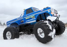 Traxxas 36034-1 Bigfoot Remote Control Monster Truck, Blue | EBay Bigfoot 18 Monster Trucks Wiki Fandom Powered By Wikia Larry Swim 44 Inc Truck Racing Team News Ppg The Official Paint Of Bigfoot Classic 110 Scale Rtr Blue La Boutique Du Toughest Tour Is Coming Back To Casper 2017 Sema Show Ford F 250 Youtube I Am Modelist Hobbyquarters Summit Atlanta Motorama To Reunite 12 Generations Mons Guinness World Records Longest Ramp Jump 4x4 Inc Home Facebook