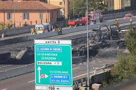 Tanker Truck Explodes On Highway Near Bologna, Italy - NY Daily News Five Die In Ondo Tanker Explosion 3 Dead After Truck Crashes And Explodes Smyth County Tanker Sending Deadly Fireball Across Italy Motorway Oil Tanker Fire Wasatch Fire Why Cant I Find Any European Scs Software Truck Explosion Three Dead 60 Injured After Collapses Fiery Crash Shuts Down I94 Near Troitdearborn Gnville The Daily Gazette Of A On The Highway Montreal Canada Full 2 Men Fuel Kivitvcom Boise Id 105 Freeway Kills Two People Nbc