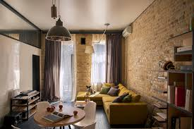 100 Brick Loft Apartments Small Square Apartment With Efficient Layout And Smooth Energy
