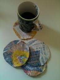 Plastic Bag Coasters C Kolika Chatterjee