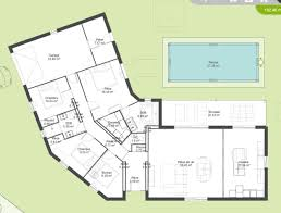 plan maison plain pied de 5 chambres newsindo co