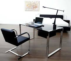 Glass And Metal Computer Desk With Drawers by Best Organize A Glass Desk With Drawers All Office Desk Design