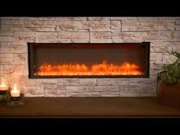 Gallery Collection Built In Linear Electric Fireplace The