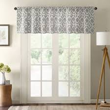 buy grey window valances from bed bath beyond