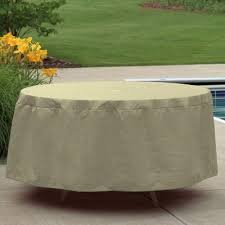 great 48 inch round patio table cover with umbrella hole patio