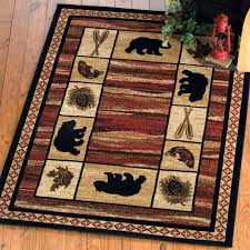 Buy All Your Rustic Area Rugs Cabin Accent And Bear At Black Forest Decor Primary Source For Moose