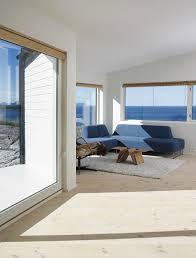 architektenhäuser panoramafenster im wohnzimmer bild 6
