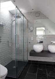 gray slate bathroom tile ideas and pictures