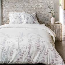 housse de couette linen chest décoration chambre naturelle ou tropicale tête de lit