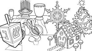 Awesome Collection Of Free Printable Hanukkah Coloring Pages Kids To Print Also Sample