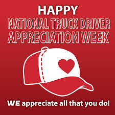 Truck Driver Appreciation Week 2016 | WE Holiday Graphics | Pinterest 2016 National Truck Driver Appreciation Week Recap Odyssey Celebrating Eagle Highway Heroes Its Shirt Southern Glazers Wine Spirits Recognizes Drivers During Archives Mile Markers Blogging The Road Ahead 18 Fun Facts You Didnt Know About Trucks Truckers And Trucking Freight Amsters Holland Professional Happy Youtube 2017 Drive For