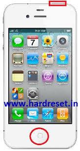 Apple iPhone 4S Hard reset