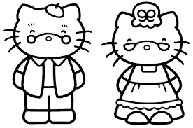 Coloriage Hello Kitty Sirene Frais Coloriage A Colorier Et A