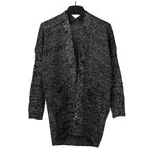 saym women u0027s twist pockets wear sweater loose long knit