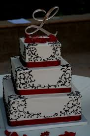 Wedding CakesElegant Black And White Cakes Cool Elegant