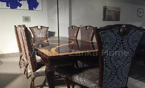 Dining Table In Black Theme Is Presented By Zarika Home At Design Read More