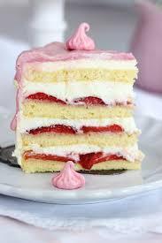 muttertag erdbeer frischkäse torte s lieblingsstücke