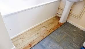 holzboden im badezimmer deck teak badezimmerboden