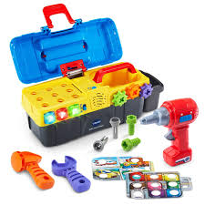 100 Vtech Hammer Fun Learning Truck Amazoncom VTech Drill Learn Toolbox Toys Games