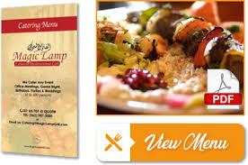 Catering Long Beach Magic Lamp Grill