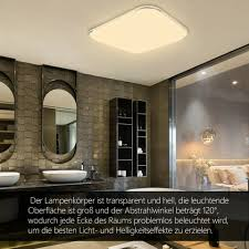 led deckenle deckenleuchte wandle badezimmer wohnzimmer 36w