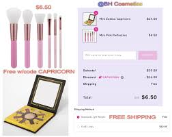 BH Cosmetics: Mini Pink Perfection Brush Set & Mini Zodiac ... Bh Cosmetics Promotions Discount W Carli Bybel Cosmetics Eyes On The 70s Discount Coupon Code Inside Accsories Coupon Codes Discounts And Promos Wethriftcom Aquamodestacom Twitter Use Holiday Cengagebrain Code How To Use Promo Codes Coupons For Cengagebraincom Best Black Friday Deals Airpods Lg Oled Tvs Nintendo 30 Off Tea Box Express Coupons Promo Center Competitors Revenue Employees Coupaeon Photography Deal Tracker Cyber Monday