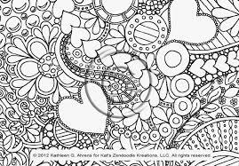 Doodle Art Coloring Pages Best