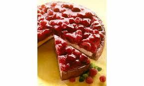 himbeer kirsch torte