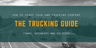 100 Start A Trucking Company Ing A Heres Everything You Need To Know