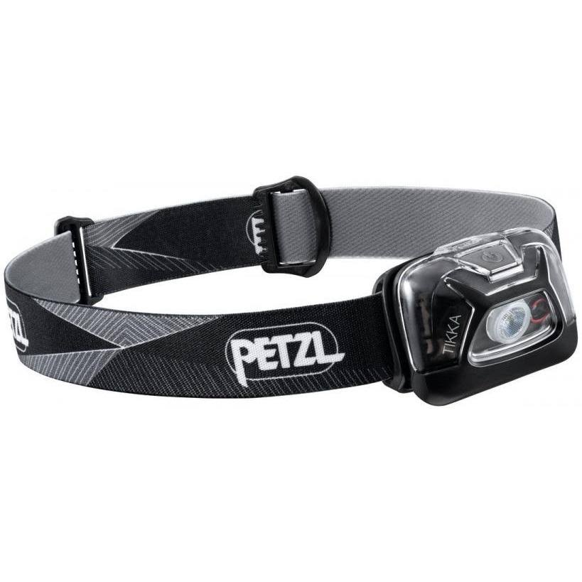 Petzl Tikka Headtorch - Black, 300 Lumen