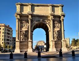 100 Arch D Porte DAix Triumphal Marseille
