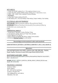 Welding Resume Objective Endearing Samples For Jobs With Arc Welder Certified