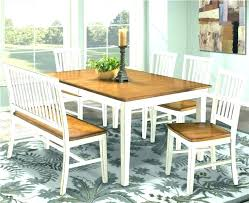 High Back Dining Bench Seat Table With Upholstered