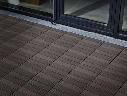 Kontiki Deck Tiles Canada by Top Interlocking Patio Tiles And Decking Tiles Timber Dark Grey