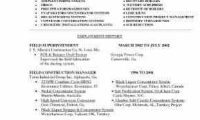 Resume Format For Construction Store Keeper Awesome Sample Pdf