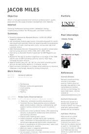Sample Of General Resume Objective