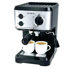 Mr Coffee 4 Cup Medium Size Of Espresso Maker With Trendy