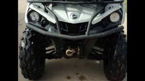 can am outlander l 500 led headlight upgrade