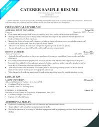Kitchen Stewarding Manager Resume Objective For Restaurant Example