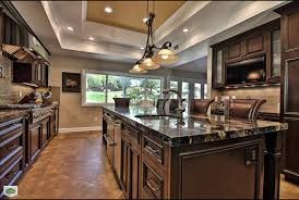 Vinyl Plank Flooring Kitchen Traditional With Dark Cabinets Plus Perfect Art Designs