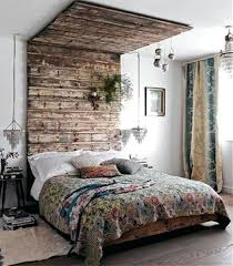 Rustic Style Bedroom Very Creative Design With Room Dividers