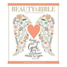 Beauty In The Bible An Adult Coloring Book Premium Paperback