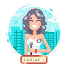 News Reporting Journalist Reporter Female Girl
