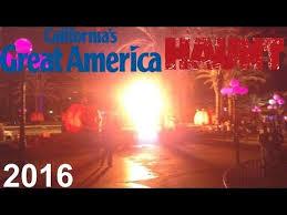 Californias Great America Halloween Haunt by Halloween Haunt 2016 California U0027s Great America Youtube