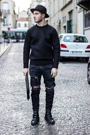 Structured Sweatshirt Streetstyle Inspiration For Men