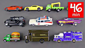 100 Toy Cars And Trucks Learning Street Vehicles For Kids 46 Mins And Hot
