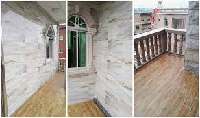 wood look ceramic tile flooring from china supplier