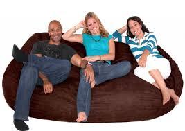 Jaxx Sac Bean Bag Chair by Sofa Extraordinary 2 Person Bean Bag Sofa 9 Cozy Sack 7 5 Feet