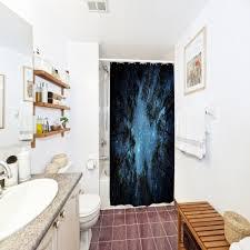 dschungel himmel polyester duschvorhang badezimmer hochauflösendes drucken 3d wasserdicht