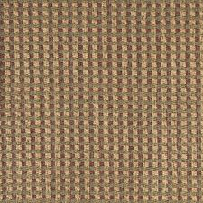 Green Beige And Red Check Southwest Style Upholstery Fabric By The Yard
